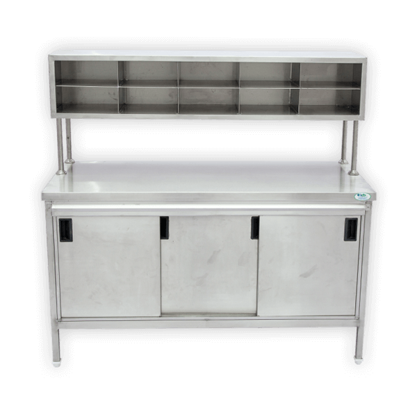 Parcel Table with Plastic Bag Sliding Drawer